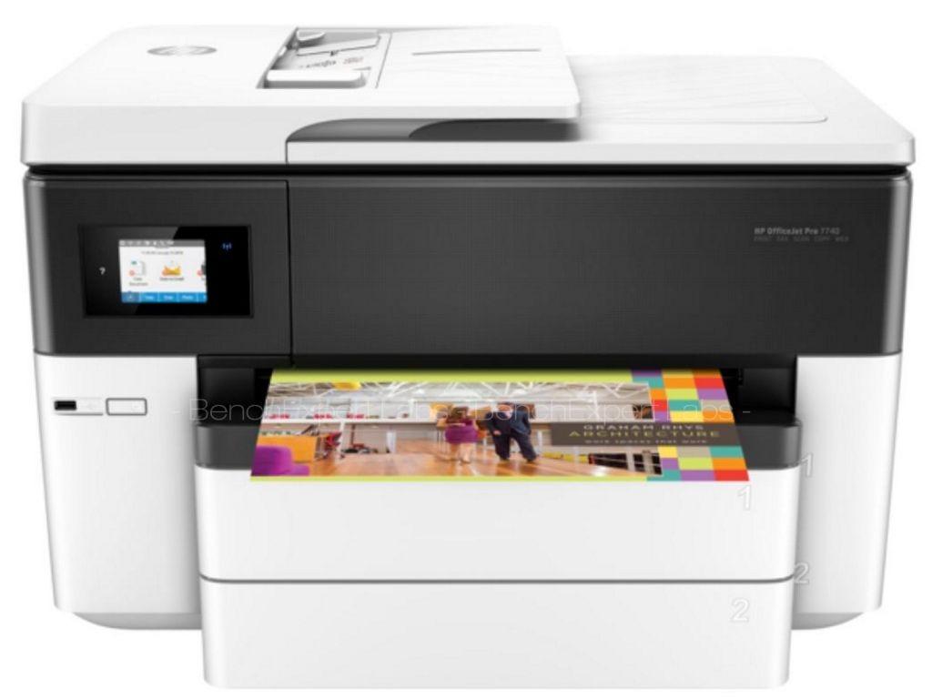 HP OfficeJet Pro 7730 Imprimante jet d'encre A4